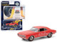 1967 Chevrolet Camaro Orange Wide Boots New Wide Tread Tires from Goodyear Goodyear Vintage Ad Cars Hobby Exclusive 1/64 Diecast Model Car Greenlight 30195