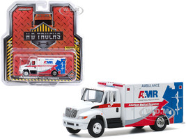2013 International Durastar Ambulance American Medical Response AMR H.D. Trucks Series 19 1/64 Diecast Model Greenlight 33190 A
