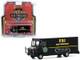 2019 FBI Step Van FBI Bomb Technicians Black H.D. Trucks Series 19 1/64 Diecast Model Greenlight 33190 C
