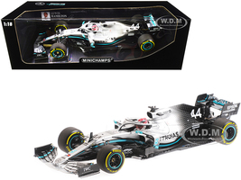 Mercedes AMG Petronas Motorsport F1 W10 EQ Power+ #44 Lewis Hamilton Winner Chinese Grand Prix 2019 Limited Edition 384 pieces Worldwide 1/18 Diecast Model Car Minichamps 110190344