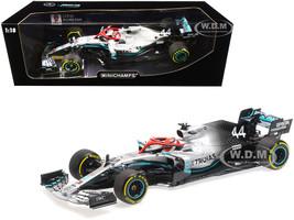 Mercedes AMG Petronas Motorsport F1 W10 EQ Power+ #44 Lewis Hamilton Winner Monaco Grand Prix 2019 Limited Edition 720 pieces Worldwide 1/18 Diecast Model Car Minichamps 110190644