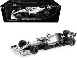 Mercedes AMG Petronas Motorsport F1 W10 EQ Power+ #44 Lewis Hamilton Winner German Grand Prix 2019 Limited Edition 618 pieces Worldwide 1/18 Diecast Model Car Minichamps 110191144