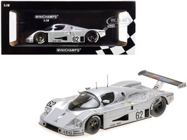 Sauber Mercedes C9 #62 Schlesser Jabouille Cudini 5th Place 24 Hours of Le Mans 1989 Limited Edition 402 pieces Worldwide 1/18 Diecast Model Car Minichamps 155893562