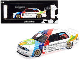 BMW M3 #5 Joachim Winkelhock BMW M-Team Schnitzer 3rd Place Macau Guia Race 1990 Limited Edition 300 pieces Worldwide 1/18 Diecast Model Car Minichamps 155902005