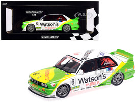 BMW M3 #6 Emanuele Pirro BMW M-Team Schnitzer Winner Macau Guia Race 1991 Limited Edition 300 pieces Worldwide 1/18 Diecast Model Car Minichamps 155912006
