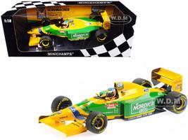 Benetton Ford B193B #5 Michael Schumacher Winner Portuguese GP Formula One F1 1993 Limited Edition 744 pieces Worldwide 1/18 Diecast Model Car Minichamps 510933205