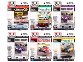 Autoworld Premium 2020 Set B of 6 pieces Release 4 1/64 Diecast Model Cars Autoworld 64272 B