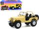 1980 Jeep CJ-5 Yellow Julie Roger's Charlie's Angels 1976 1981 TV Series 1/18 Diecast Model Car Greenlight 19078