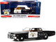 1974 Dodge Monaco California Highway Patrol CHP Black White Hot Pursuit 1/24 Diecast Model Car Greenlight 85511