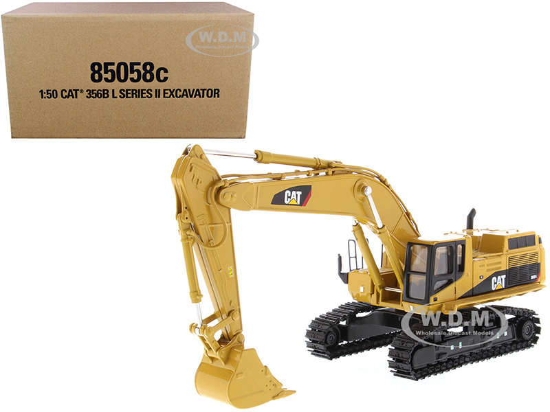CAT Caterpillar 365B L Series II Hydraulic Excavator Two Figurines Core Classics Series 1/50 Diecast Model Diecast Masters 85058 C