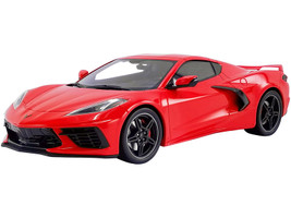 2020 Chevrolet Corvette Stingray C8 Torch Red USA Exclusive Series 1/18 Model Car by GT Spirit ACME US028