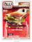 1976 Cadillac Coupe DeVille Burgundy Cream Gold Wheels Custom Lowriders Limited Edition 4800 pieces Worldwide 1/64 Diecast Model Car Autoworld CP7660