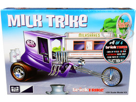 Skill 2 Model Kit Milk Trike Trick Trikes Series 1/25 Scale Model MPC MPC895