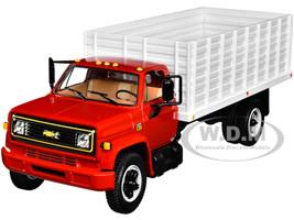 Chevrolet C65 Grain Truck Red White 1/34 Diecast Model First Gear 10-4215