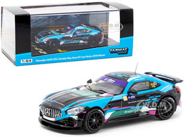 Mercedes AMG GT4 #18 Kevin Tse Winner Greater Bay Area GT Cup Macau 2019 1/64 Diecast Model Car Tarmac Works T64-006-19MGP18