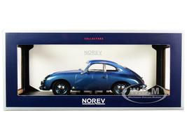 1954 Porsche 356 Coupe Blue Metallic 1/18 Diecast Model Car Norev 187450