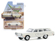 1969 Plymouth Satellite Station Wagon Alpine White Estate Wagons Series 5 1/64 Diecast Model Car Greenlight 29990 B