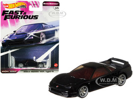 2003 Honda NSX Type-R Black Fast & Furious Diecast Model Car Hot Wheels GJR80