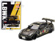 Nissan GT-R R35 Type 2 Rear Wing Version 3 LB Works #12 JPS Limited Edition 1800 pieces Worldwide 1/64 Diecast Model Car True Scale Miniatures MGT00140