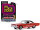 1970 Plymouth GTX Orange Black Top The Mod Squad 1968 1973 TV Series Hollywood Series Release 29 1/64 Diecast Model Car Greenlight 44890 A
