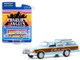 1979 Ford LTD Country Squire Light Blue Wood Grain Paneling Charlie's Angels 1976 1981 TV Series Hollywood Series Release 29 1/64 Diecast Model Car Greenlight 44890 E