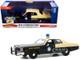 1978 Plymouth Fury Florida Highway Patrol Black Yellow Hot Pursuit 1/24 Diecast Model Car Greenlight 85512