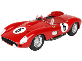 Ferrari 335S #6 Phil Hill Peter Collins 24 Hours of Le Mans 1957 DISPLAY CASE Limited Edition 99 pieces Worldwide 1/18 Model Car BBR C1807F