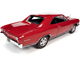1966 Chevrolet Chevelle SS 396 Hardtop Regal Red Hemmings Motor News Magazine Cover Car April 2013 1/18 Diecast Model Car Autoworld AMM1233