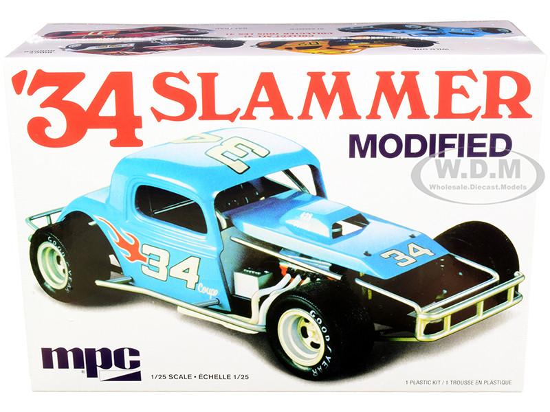 Skill 2 Model Kit 1934 Slammer Modified 1/25 Scale Model MPC MPC927 M