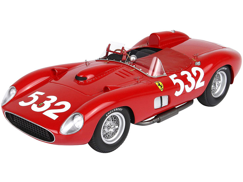 Ferrari 315S #532 Wolfgang von Trips Mille Miglia 1957 DISPLAY CASE Limited Edition 99 pieces Worldwide 1/18 Model Car BBR C1807D