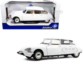 1972 Citroen D Special Blanche White 1/18 Diecast Model Car Solido S1800705