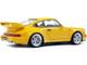 1990 Porsche 911 964 3.8 RS Jaune Yellow 1/18 Diecast Model Car Solido S1803401