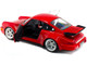 1990 Porsche 911 964 Turbo 3.6 Rouge Red 1/18 Diecast Model Car Solido S1803402