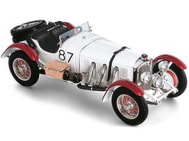 Mercedes Benz SSKL #87 Rudolf Caracciola White Elephant Mille Miglia 1931 1/18 Diecast Model Car CMC M-055