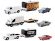 Hollywood Hitch & Tow Set of 3 pieces Series 8 1/64 Diecast Model Cars Greenlight 31100
