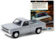 1985 Chevrolet Silverado Pickup Truck Silver Nothing Hauls Like a Chevy Truck Vintage Ad Cars Series 3 1/64 Diecast Model Car Greenlight 39050 F