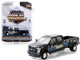 2019 Ford F-350 Lariat Dually Pickup Truck Black Baltimore Police Department Maryland Dually Drivers Series 5 1/64 Diecast Model Car Greenlight 46050 F