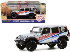 2017 Jeep Wrangler Unlimited Silver BFGoodrich 150th Anniversary All-Terrain Series 1/43 Diecast Model Car Greenlight 86186
