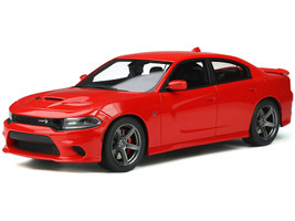 Dodge Charger SRT Hellcat Tor Red Limited Edition 999 pieces Worldwide 1/18 Model Car GT Spirit GT280
