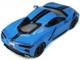 2020 Chevrolet Corvette Stingray C8 Rapid Blue Black Red Stripes Limited Edition 999 pieces Worldwide 1/18 Model Car GT Spirit GT286