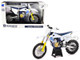 Husqvarna FC450 White Blue 1/12 Diecast Motorcycle Model New Ray 58153