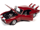 1967 Chevrolet Camaro Z/28 Nickey Hardtop Bolero Red White Stripes Muscle Car & Corvette Nationals MCACN 1/18 Diecast Model Car Autoworld AMM1228