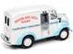 1950 Divco Delivery Truck Highland Hill Dairy White Blue 1/24 Diecast Model Car Autoworld AW24010