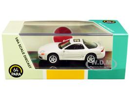 Mitsubishi 3000GT GTO Glacier White Pearl 1/64 Diecast Model Car Paragon PA-55133