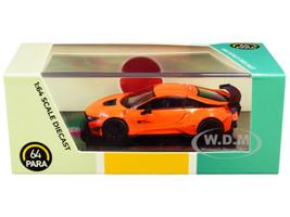 BMW i8 Liberty Walk Orange 1/64 Diecast Model Car Paragon PA-55144