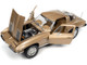 1963 Chevrolet Corvette Stingray Coupe Saddle Tan Metallic 1/18 Diecast Model Car Autoworld AMM1222