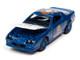 1985 Chevrolet Camaro Z28 Stratto Blue Metallic Park Place Game Token Monopoly 85th Anniversary Pop Culture Series 1/64 Diecast Model Car Johnny Lightning JLPC002 JLSP123