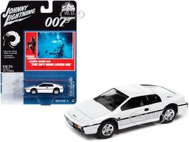 Lotus Esprit S1 White James Bond 007 The Spy Who Loved Me 1977 Movie Pop Culture Series 1/64 Diecast Model Car Johnny Lightning JLPC002 JLSP127