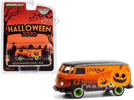 Volkswagen Panel Van Orange Black Top Halloween 2020 Hobby Exclusive 1/64 Diecast Model Greenlight 30220