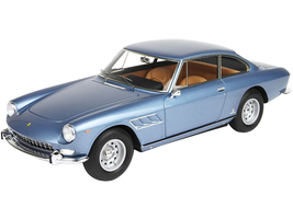 1965 Ferrari 330 GT 2+2 Series II Light Blue Metallic DISPLAY CASE Limited Edition 133 pieces Worldwide 1/18 Model Car BBR 1848 A